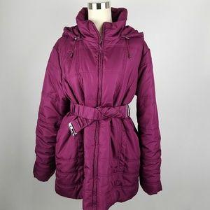 Motherhood Maternity Gorgeous Purple Spring Jacket